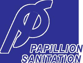 papillion-sanitation-logo-blue-glow