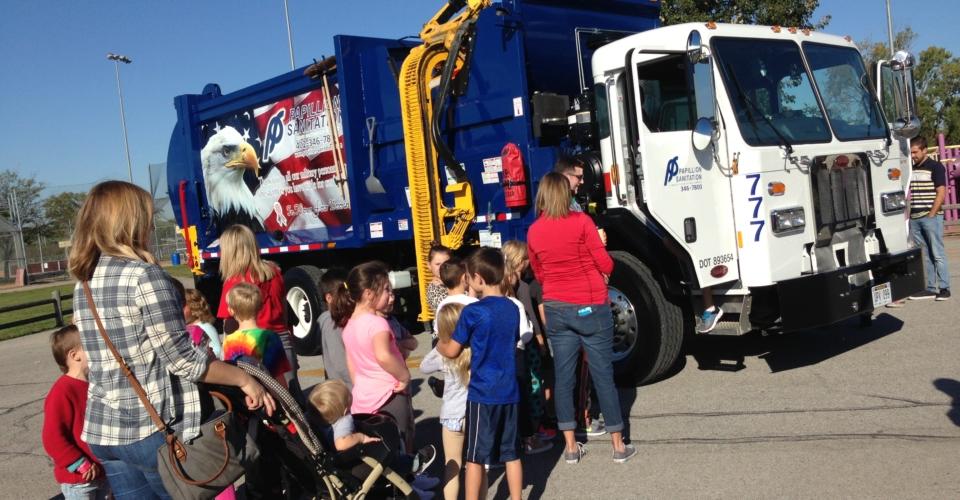 Papillion LaVista schools Vehicle Day