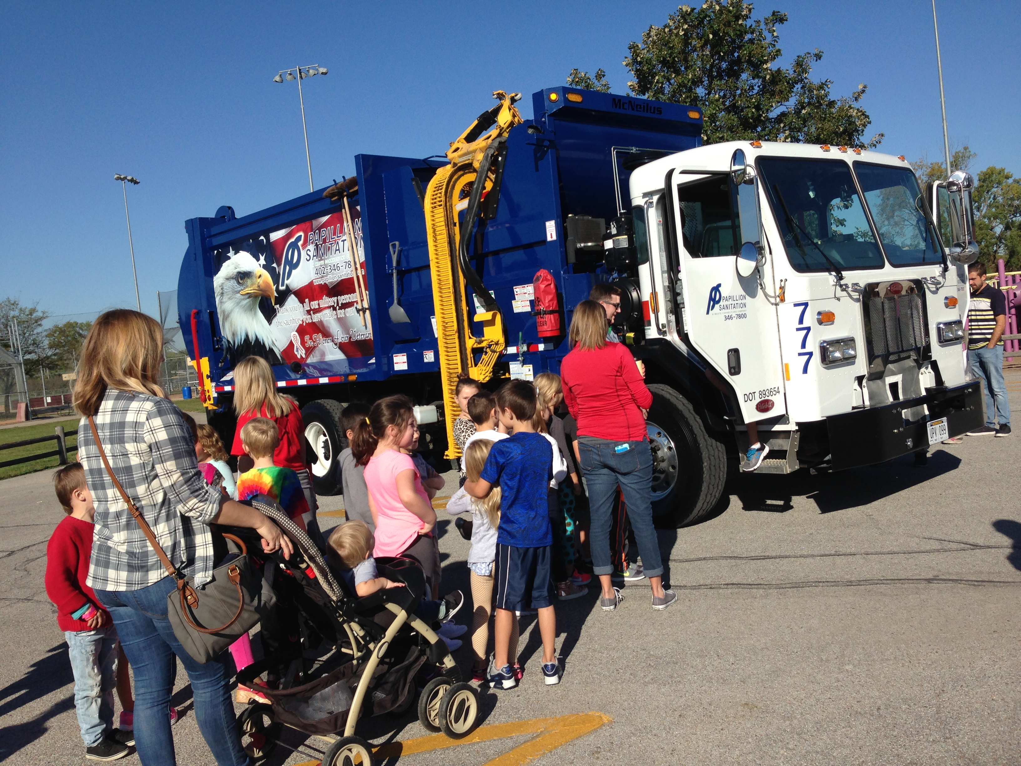 Papillion LaVista schools Vehicle Day